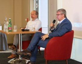 Karel Havlíček, místopředseda vlády + Václav Klaus, předseda hnutí Trikolóra (50)
